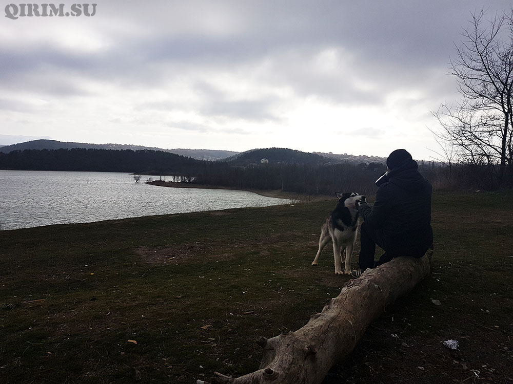водохранилище в Симферополе