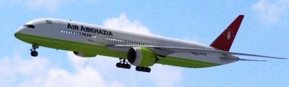Как долететь на самолете до Абхазии