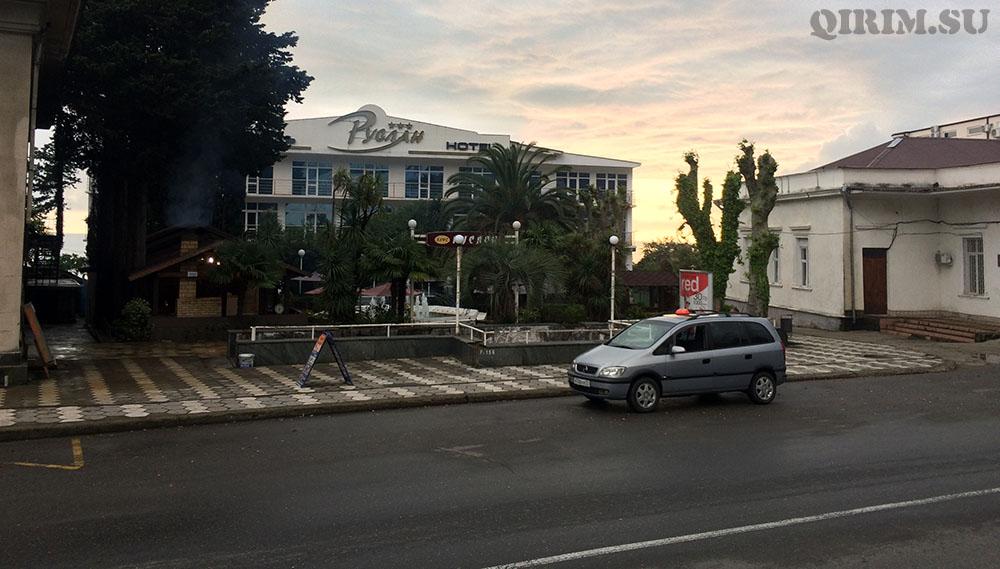 Гостиница в Гагре