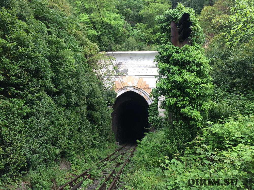 старые ЖД тунели в Гагре 2