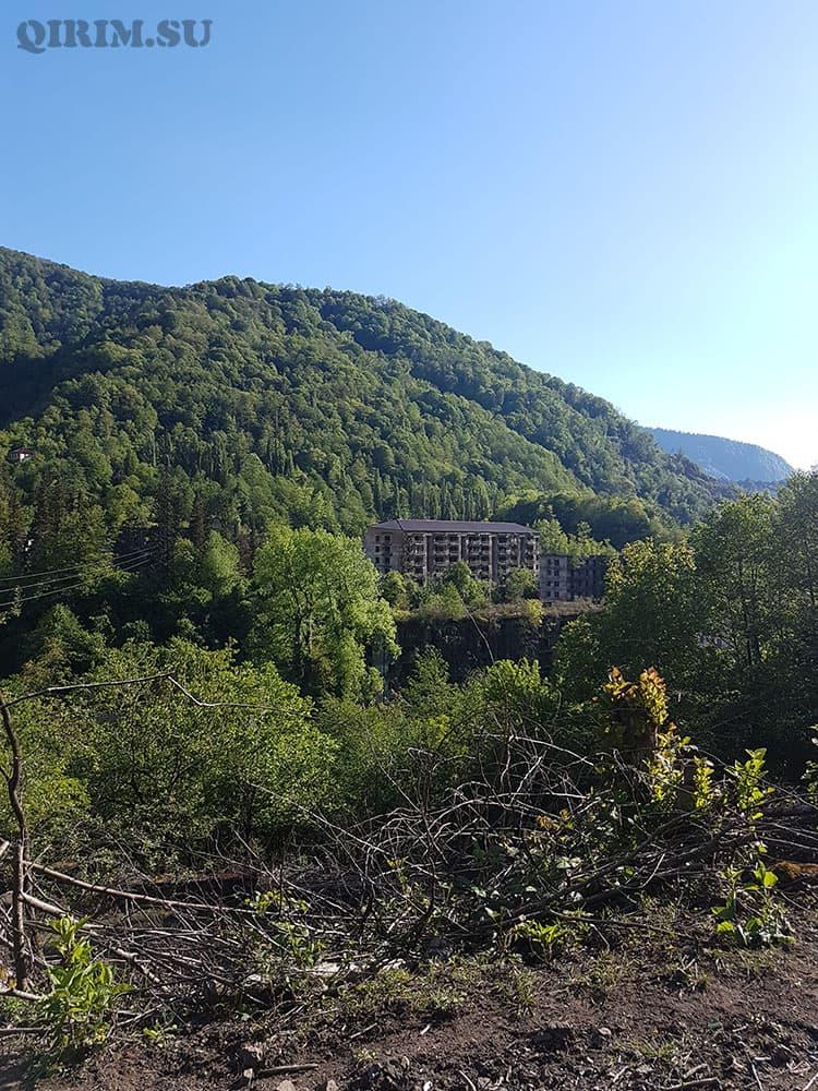 акармара город призрак в абхазии