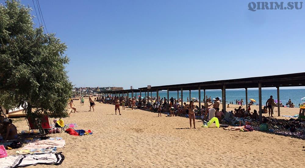 Орловка пляж