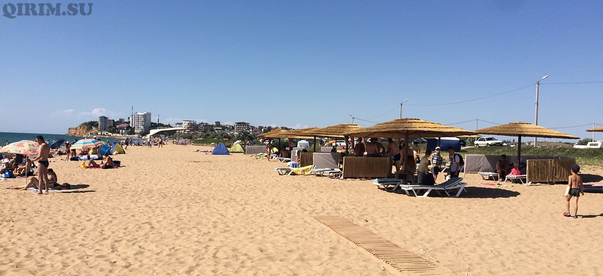 пляж в Орлове вязовой роще