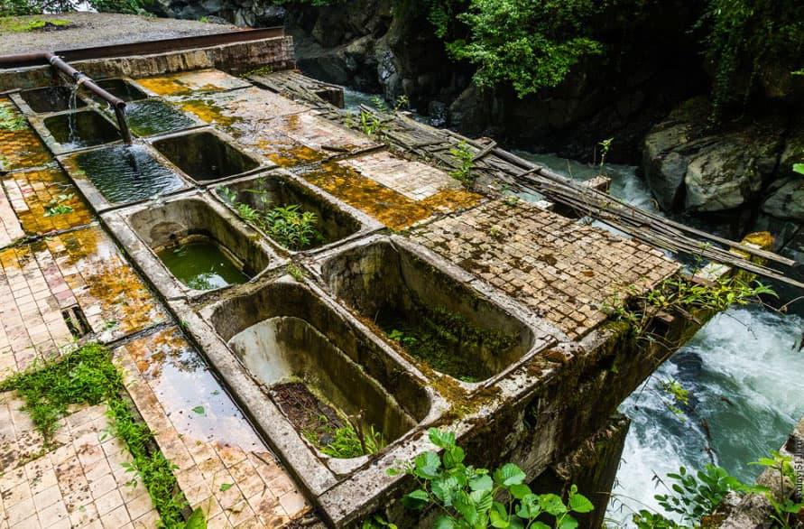 Радоновые ванны в Абхазии