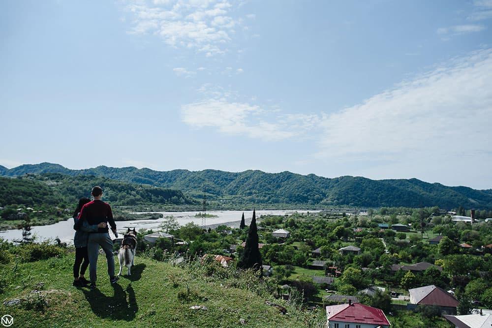 Рица Тур на реке Бзыбь