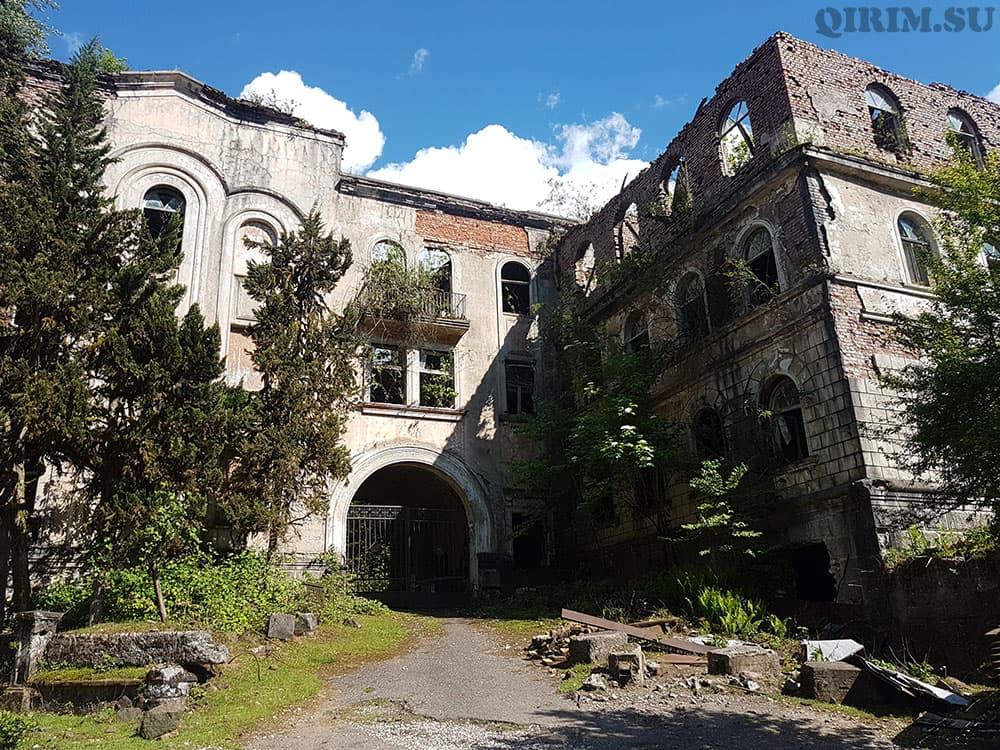 Заброшенные города в Абхазии