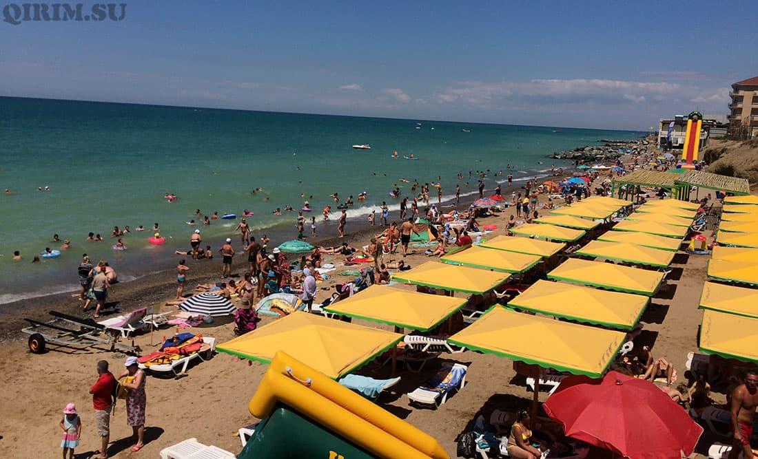Николаевка центральный пляж