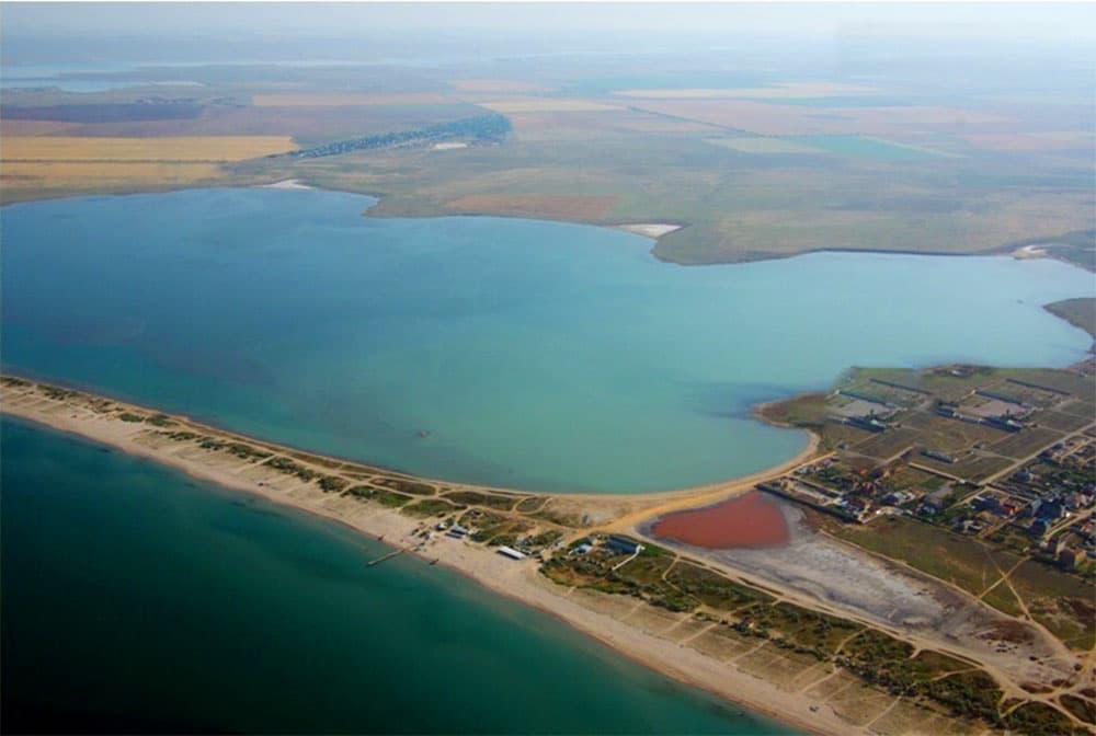 Ойбурское озеро Поповка