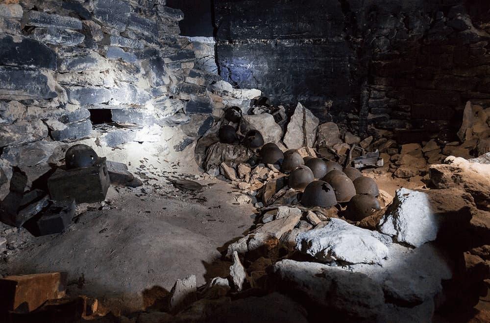 Аджимушкайские каменоломни история
