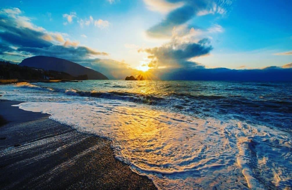 Гурзуф пляж
