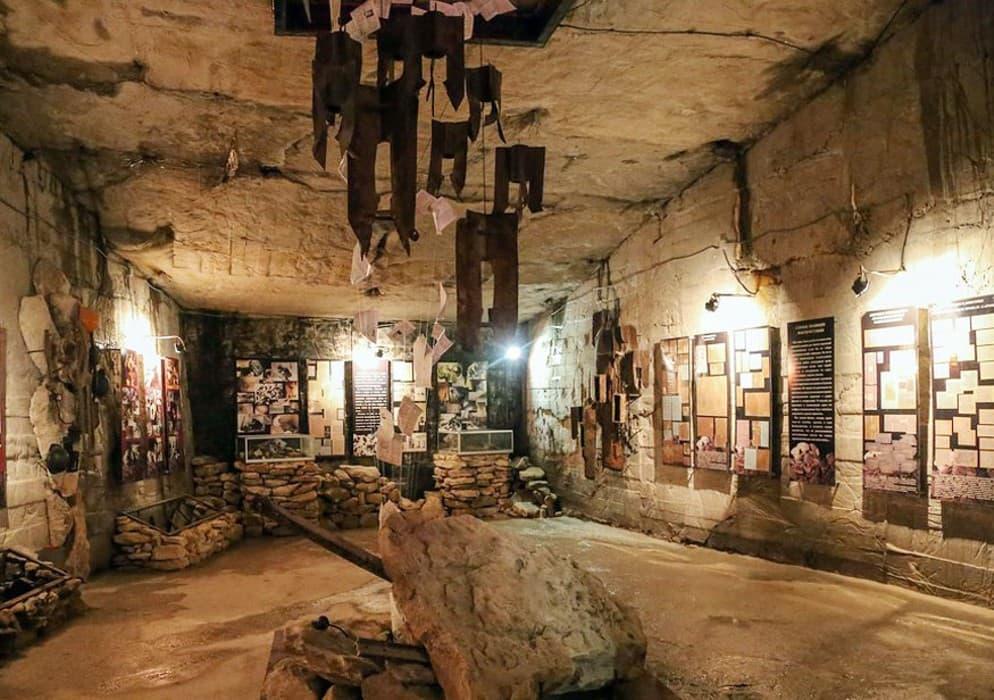 каменоломни в Керчи подземный музей