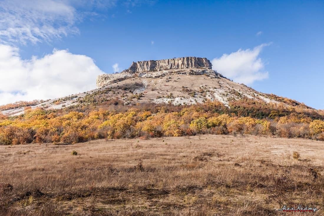 Тепе-Кермен крымские горы