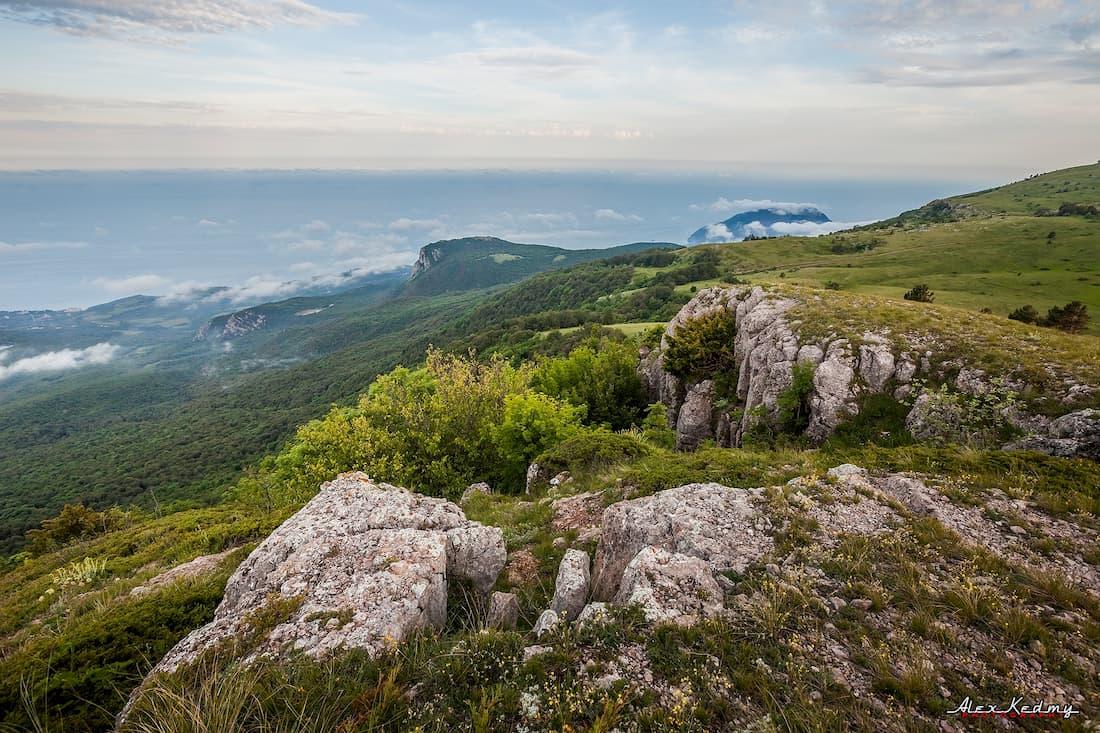 Гора Бабуган-яйла