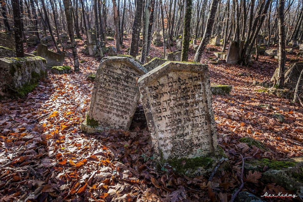 караимское кладбище Бахчисарай 3