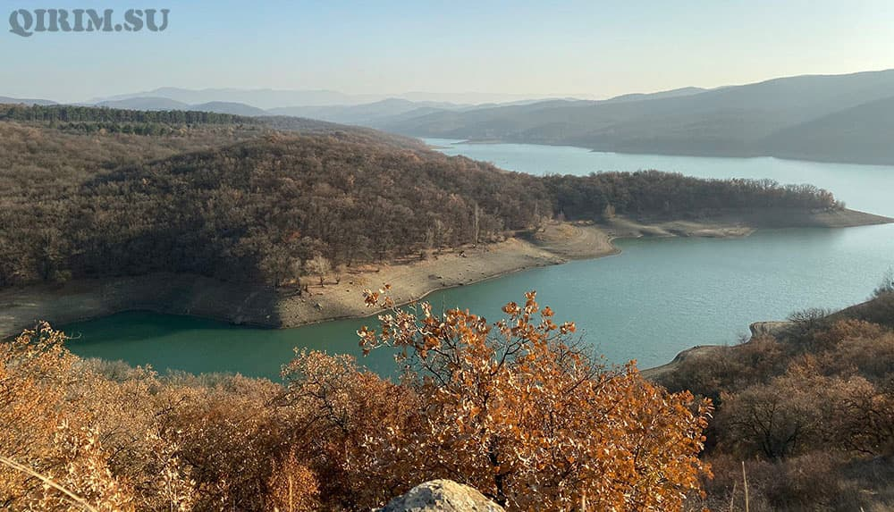 партизанское водохранилище Крым фото