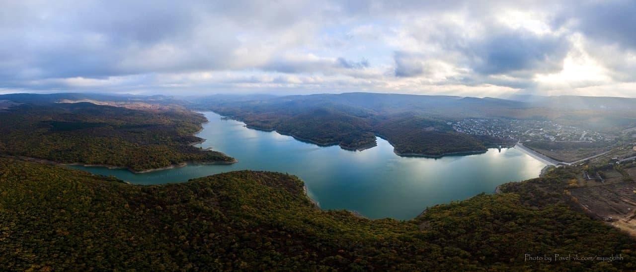 партизанское водохранилище Cимферопольский район