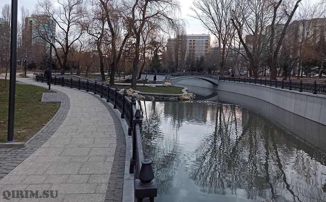 река Салгир в Крыму описание