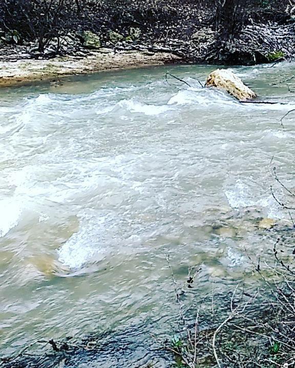 характер течения реки Бельбек
