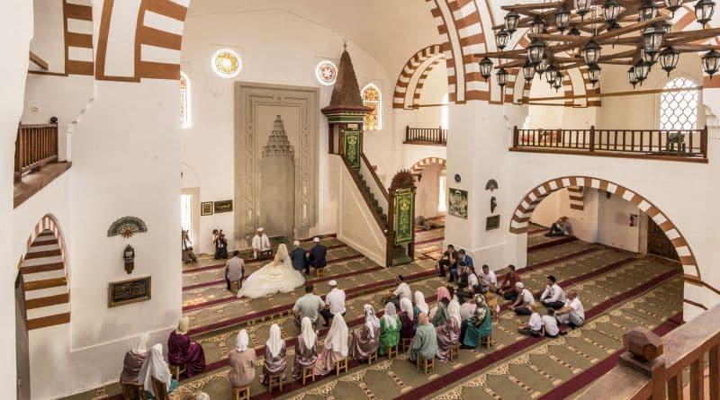 мечеть Джума-Джами - проведение Намаза