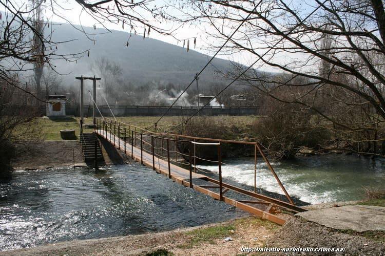 Река Черная мост