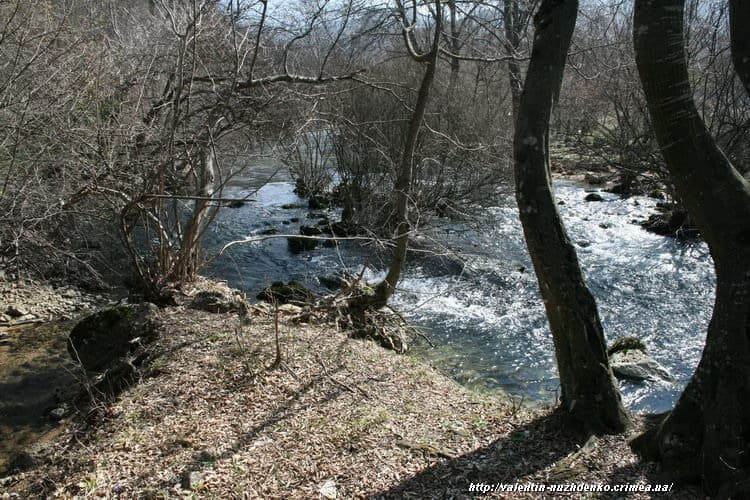 Река Черная Севастополь