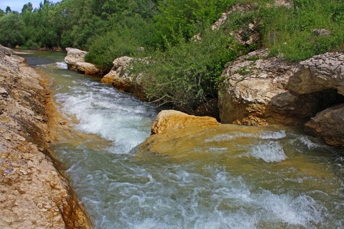 течении реки Бельбек