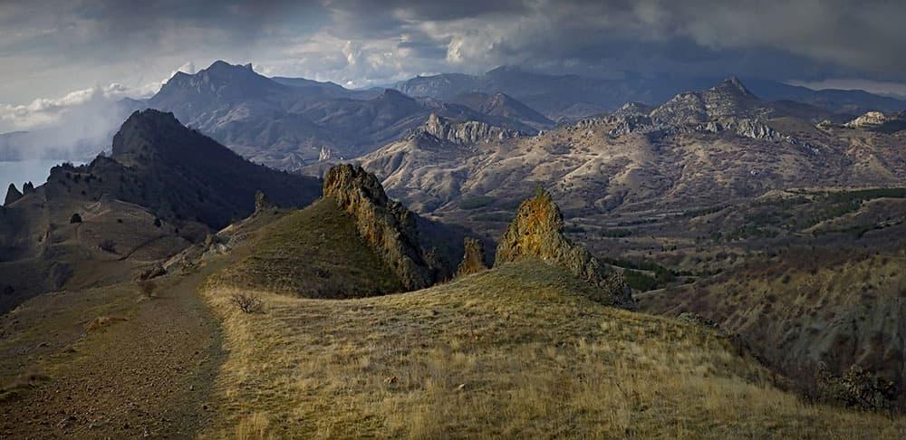 Кара-Даг Черная гора
