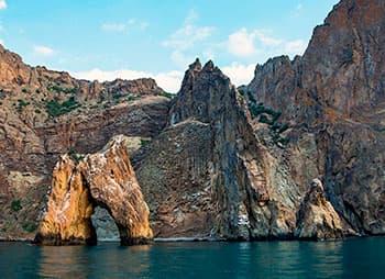 Гора Кара-Даг - затухший вулкан Крыма