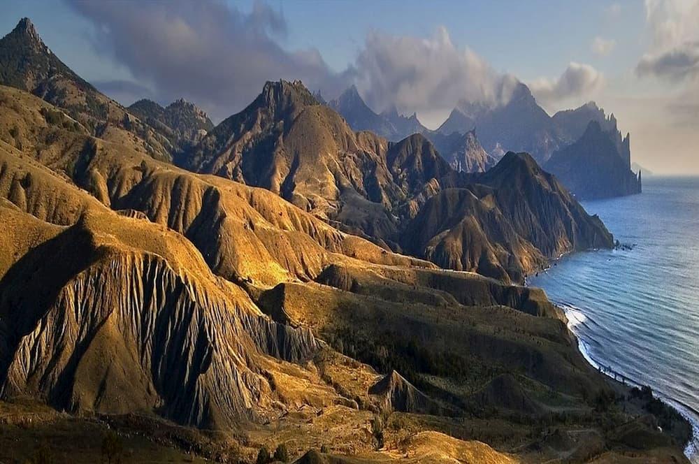 Кара-Даг вулканический массив