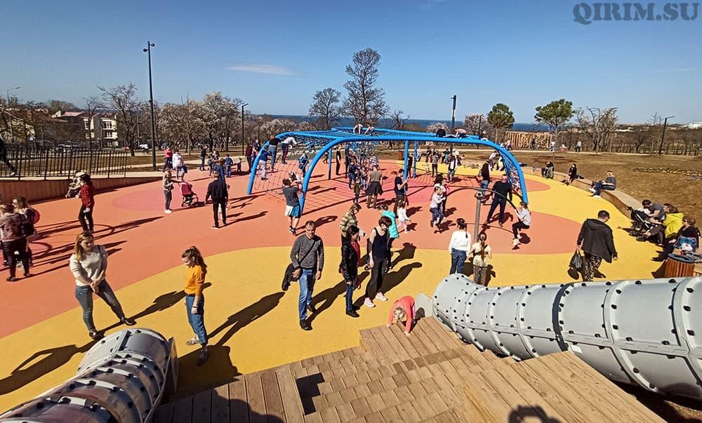 Парк Учкуевка детская площадка 2