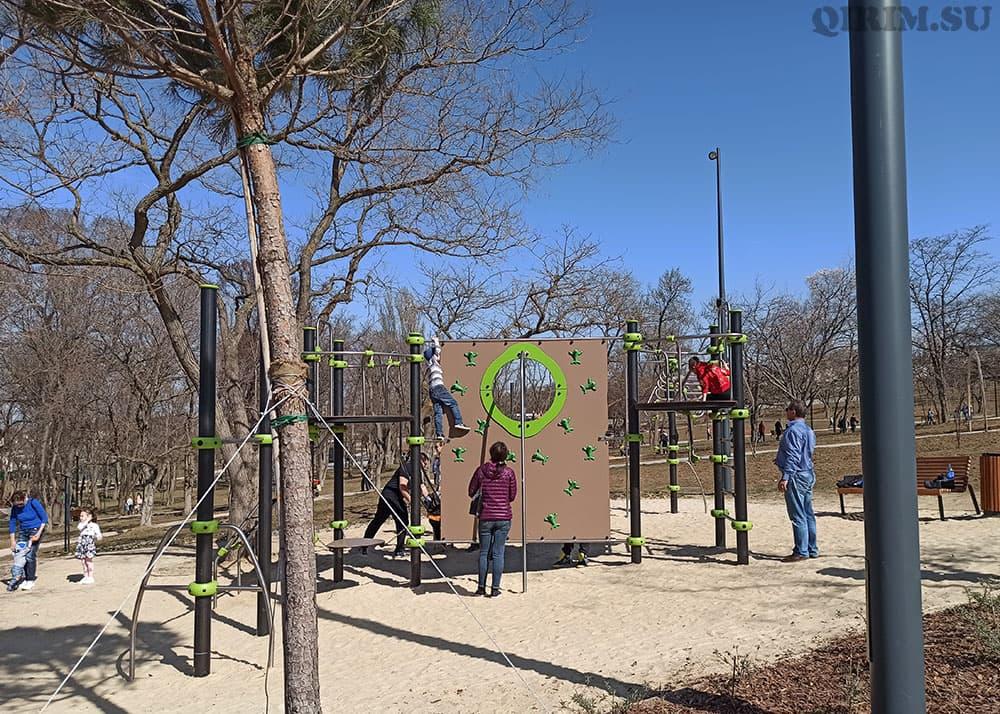 Парк Учкуевка детская площадка 3