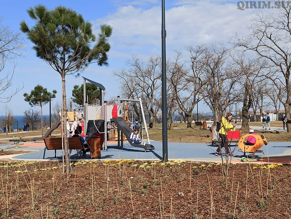 Парк Учкуевка детская площадка