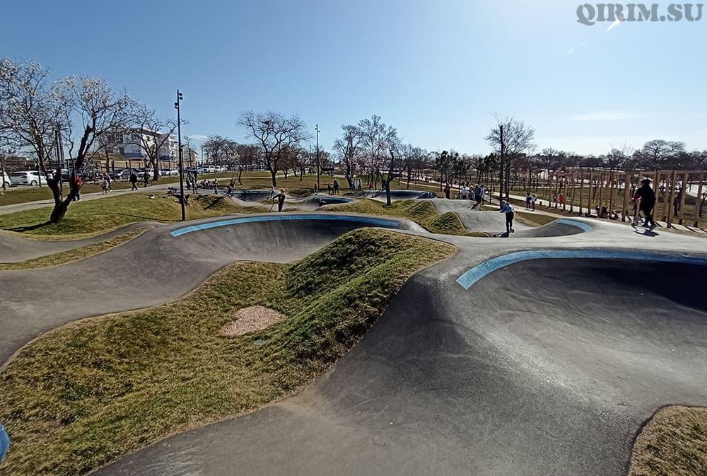 Парк Учкуевка скейт зона