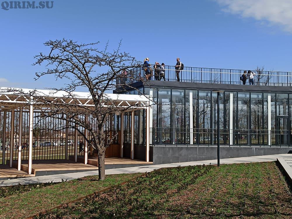 Парк Учкуевка смотровая площадка