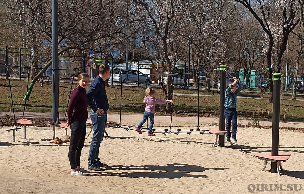 Парк Учкуевка веревочный парк для детей