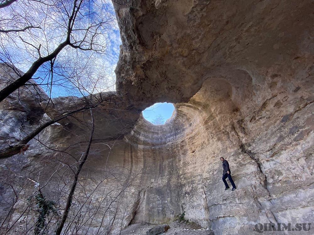 пещера Тешкли-Коба Крым