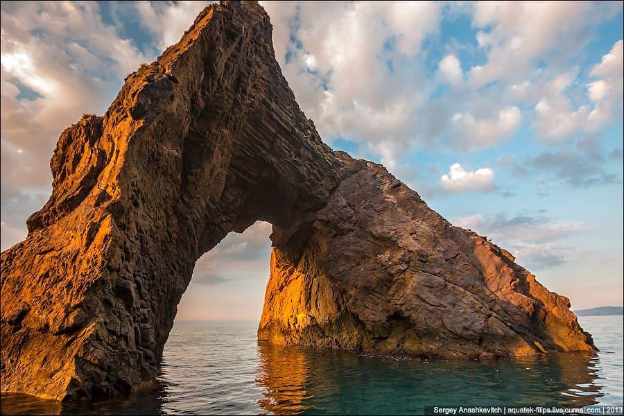 Золотые ворота в Крыму где находится