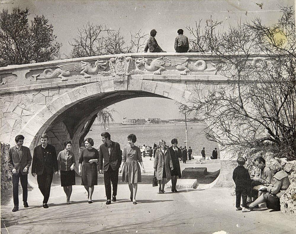 мостик влюбленных 1962 год