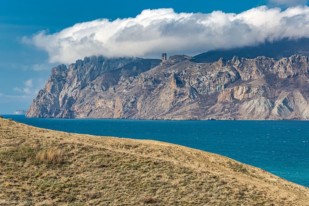 мыс Хамелеон в Крыму фото