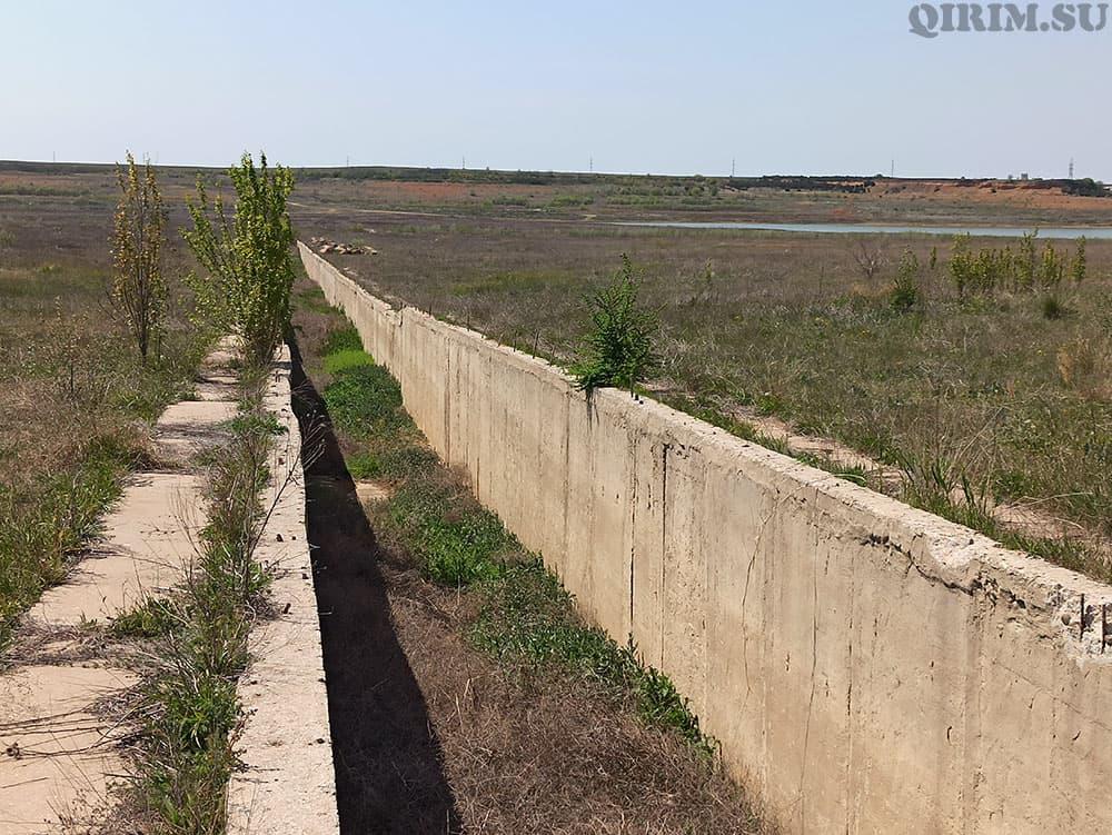 межгорное водохранилище канал