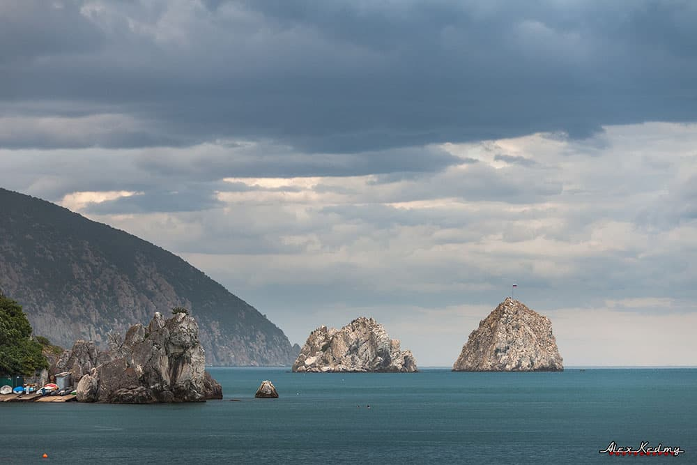 Скалы Адалары Крым