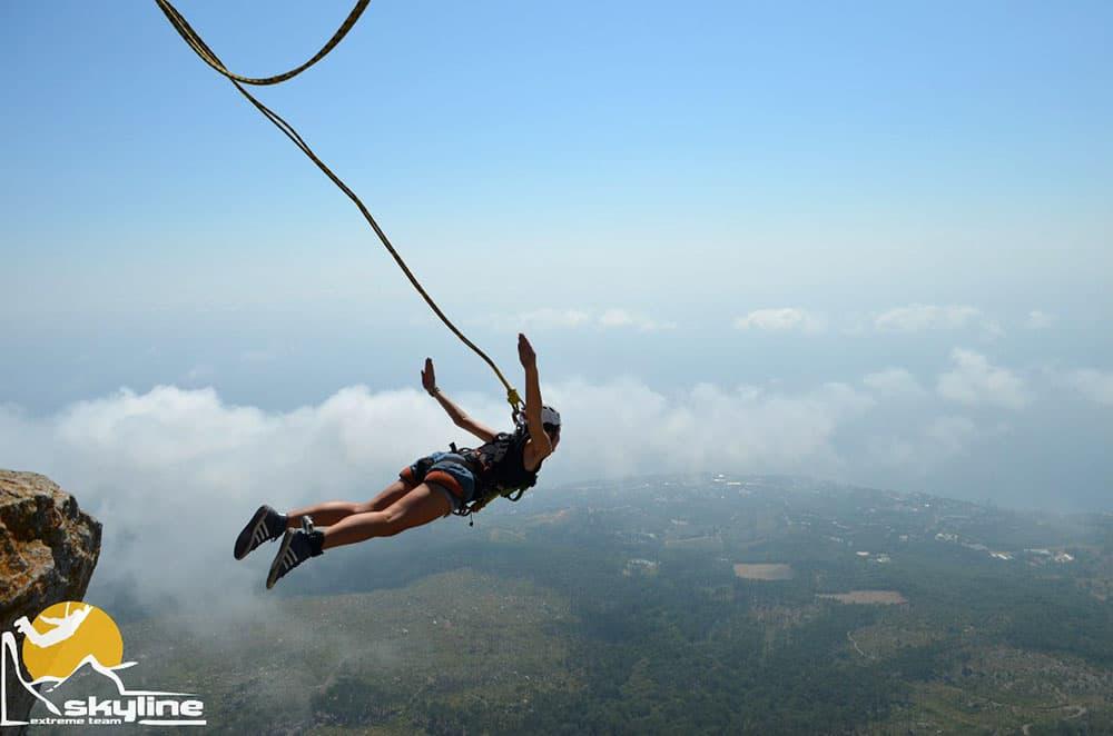 Шаан-Кая прыжки