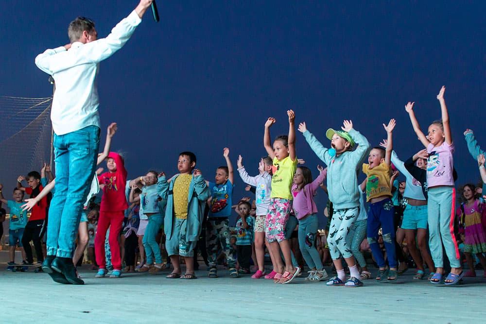 Экстрим Крым дети