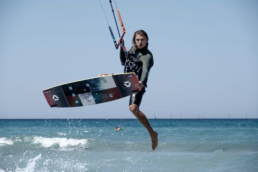 Экстрим Крым кайт серфинг