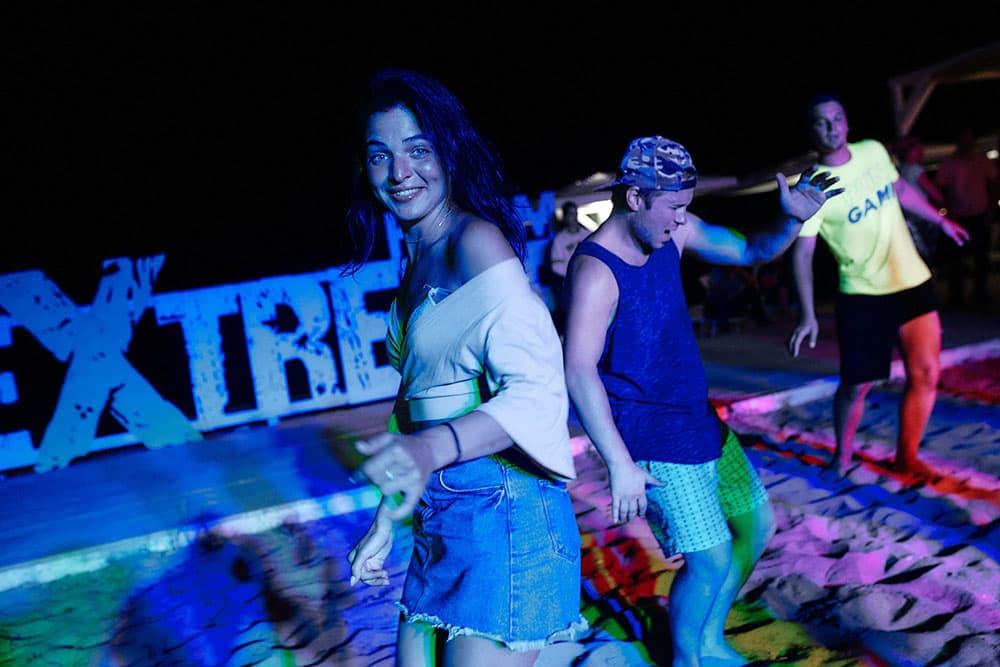 Экстрим Крым ночные танцы