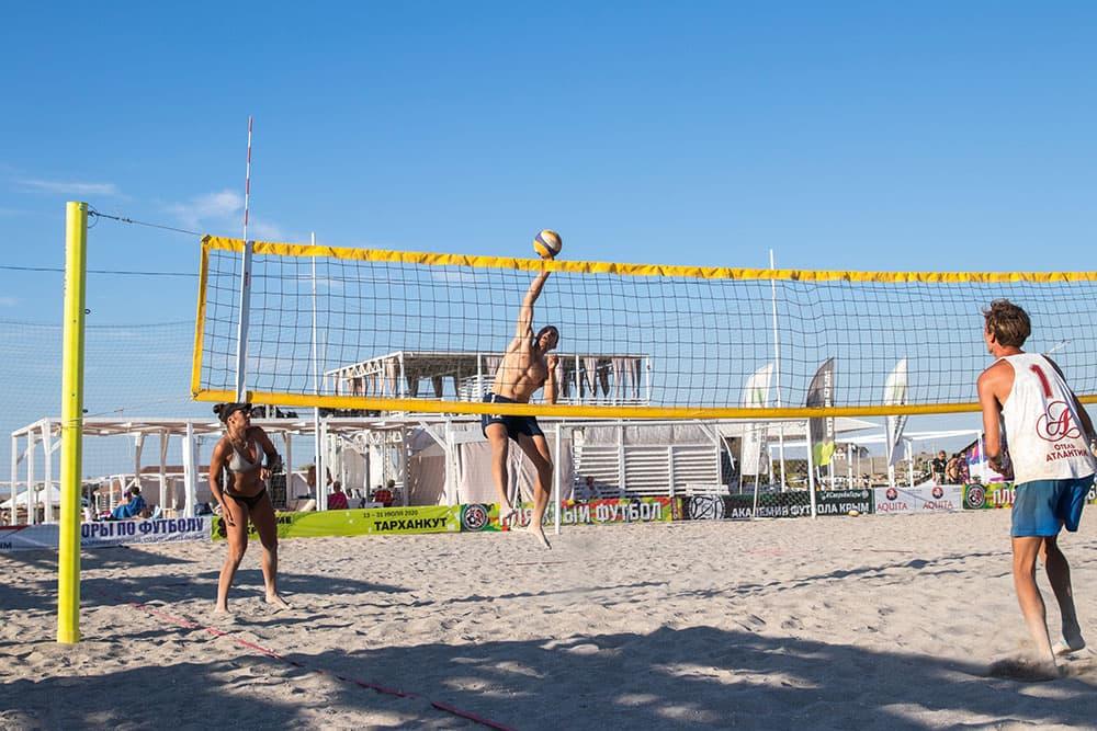 Экстрим Крым пляжный волейбол