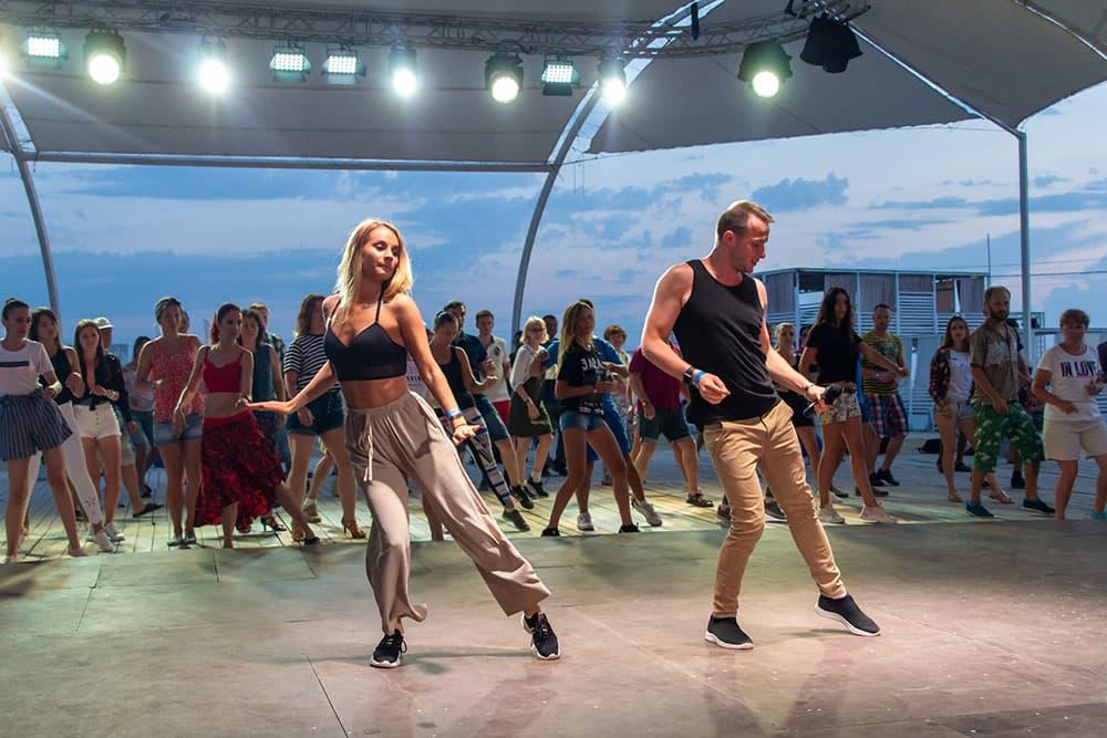 Экстрим Крым танцы