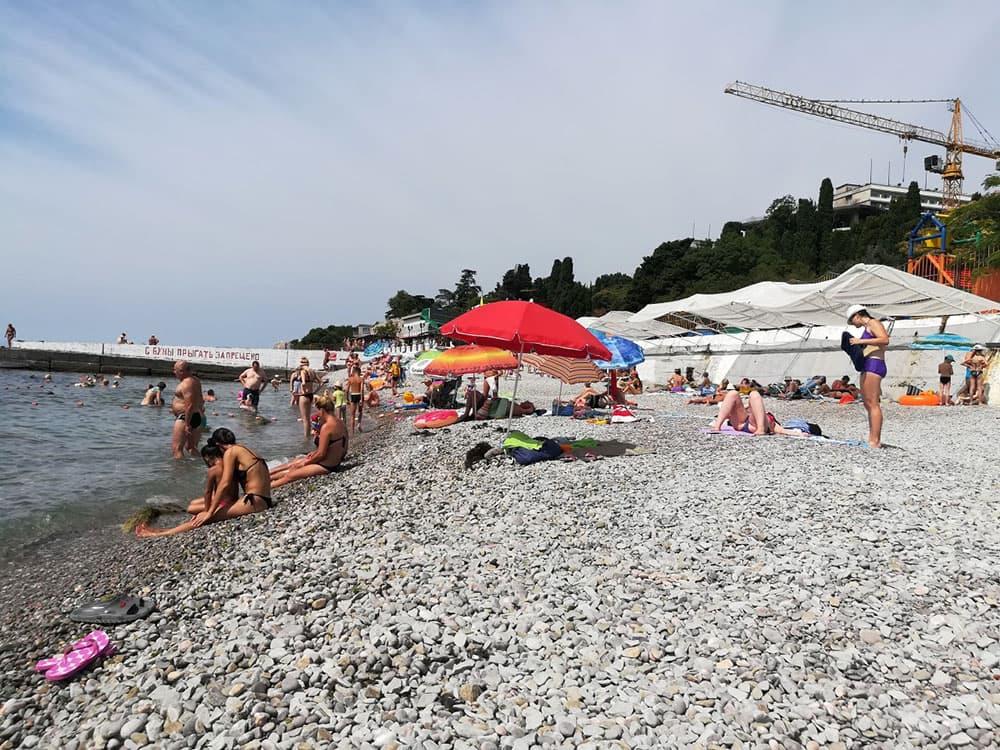 Мисхор пляж
