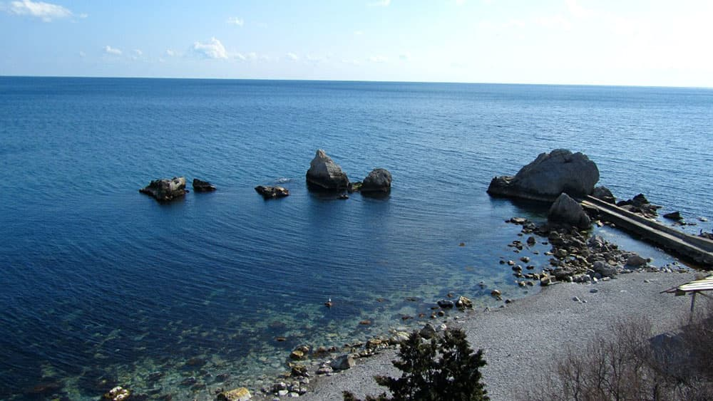 пляж Башмак Симеиз