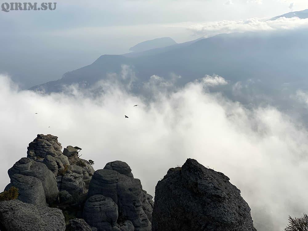 Южная Демерджи с видом на Медведь гору